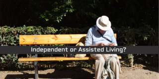Independent or assisted living home