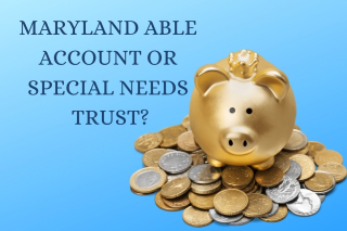 Account or special needs trust